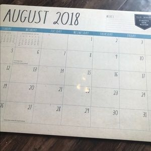 Other - Large new Rae Dunn wall calendar 2019